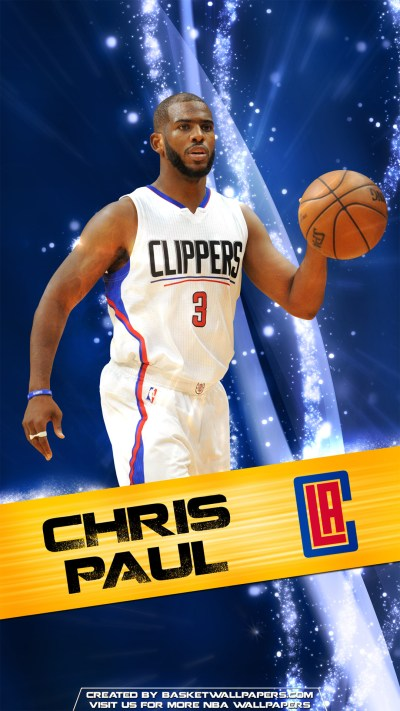 Chris Paul Los Angeles Clippers 2016 Mobile Wallpaper | Basketball Wallpapers at ...