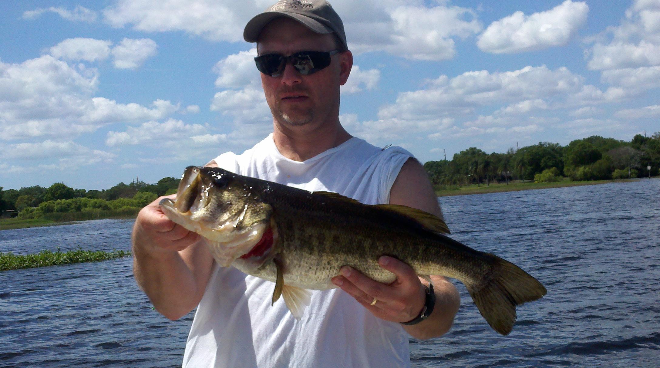 Carl randy and heath bass fishing florida lakes for Florida bass fishing guides