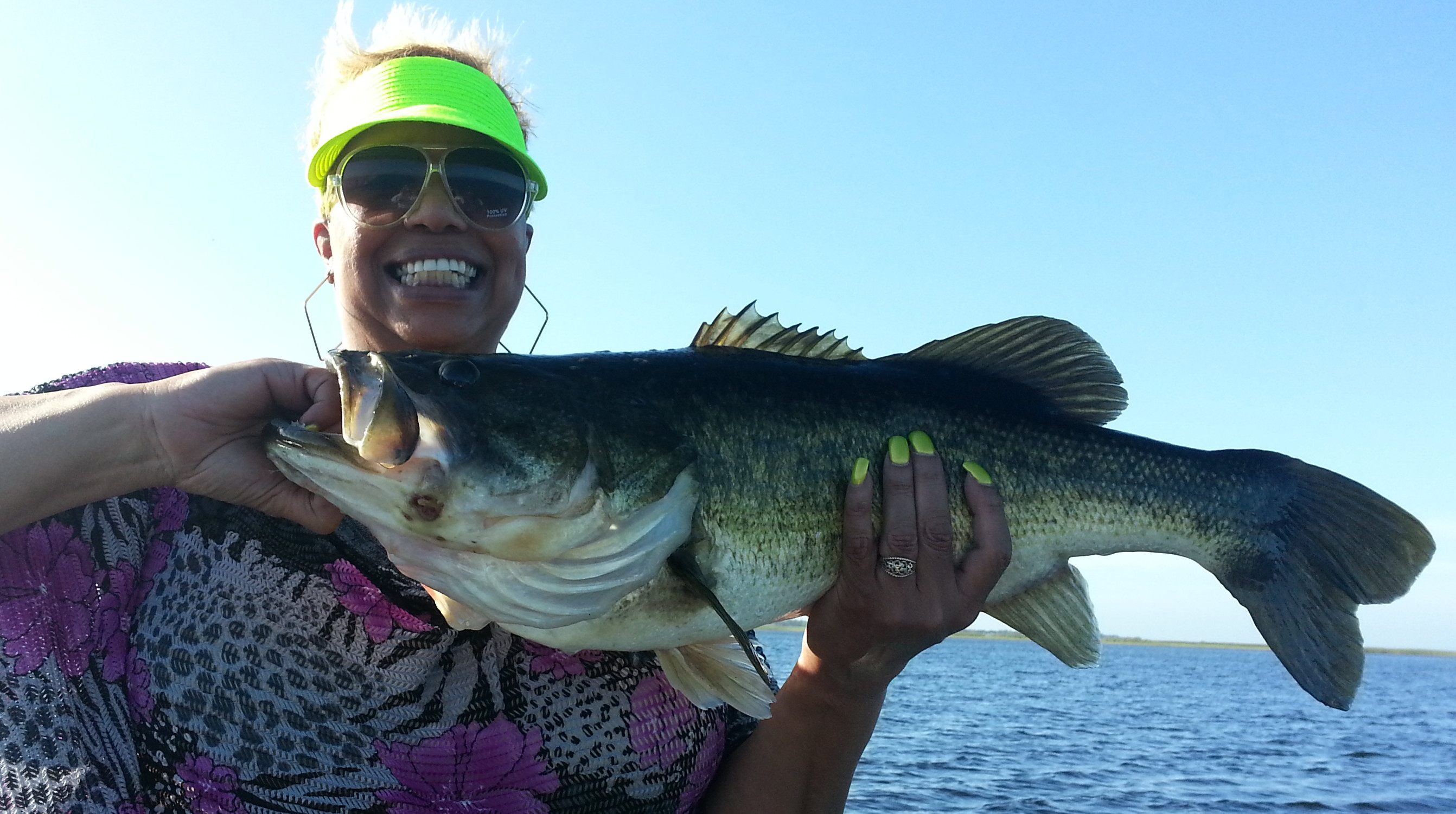 Best adventures in orlando central florida bass guides for Lake toho fishing guides