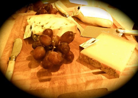 A fine selection of cheeses