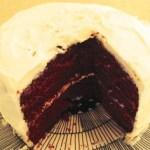 """""""Mini"""" red velvet cake"""