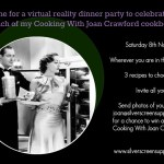 Joan Crawford Virtual Dinner Party