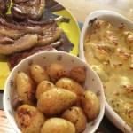 Lamb chops from Lazio