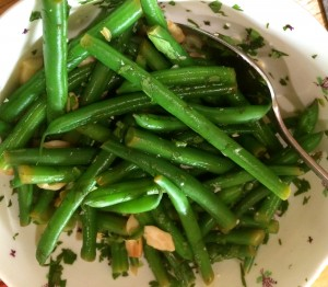 Green bean salsa