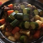 lamb and vegetable tagine