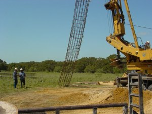 Pictures of Foundation Drilling: Cell Towers