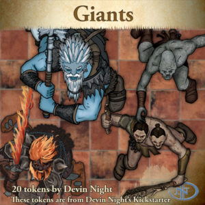 Devin Night's Token Pack #28: Giants