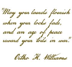 Ortho Williams quote