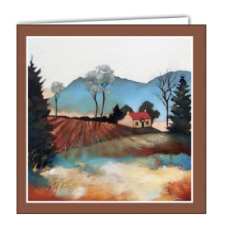 Dumyat Art Card by Lesley McLaren