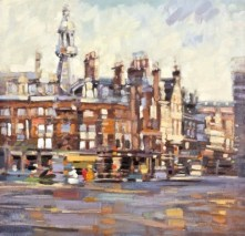 Charing Cross Mansions by Peter Foyle