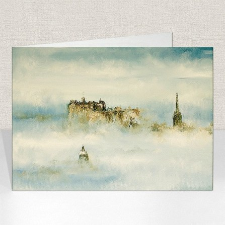 Haar over Edinburgh