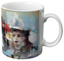 John Surtees Ceramic Gift Mug by Art48