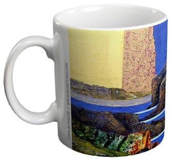 Bass Rock - Ceramic Gift Mug by John Bathgate