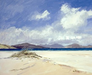 Robert Kelsey - Windy Beaches on Harris