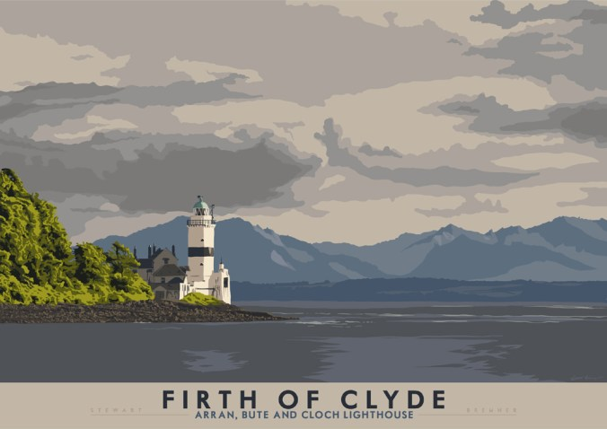 cloch-lighthouse-gourock-by-stewart-bremner