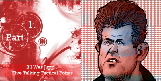 If I was Jupp... Five Talking Tactical Points (Part 1)