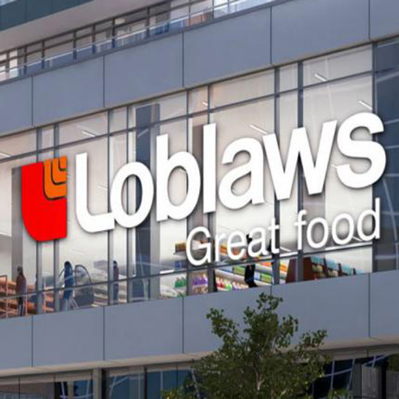 Soft open for 40,000 sq. ft. Loblaws at Eglinton-Dunfield