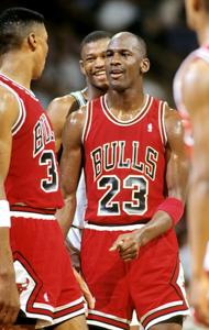 Michael Jordan - 2X deserving unanimous MVP