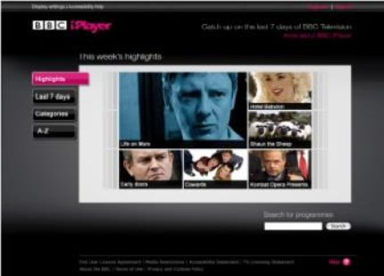 BBC   BBC Internet Blog  iPlayer Day  Performance tricks behind the     oldiplayer