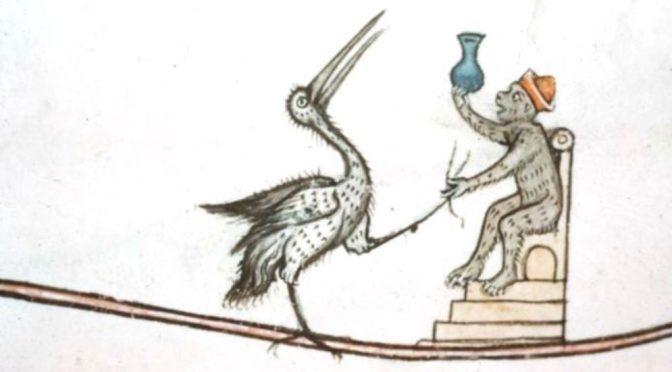 Medieval monkey doctor