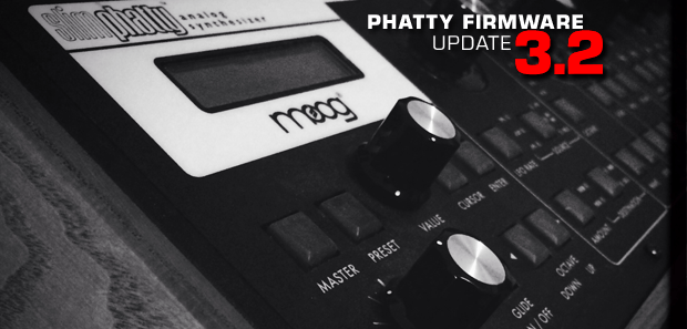 PHATTY Firmware Update v3.2