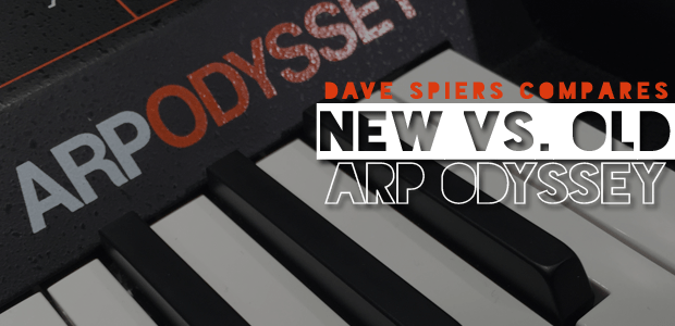 Arp Odyssey Comparison with Dave Spiers of GForce Software on Sonic State