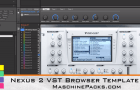 Maschine Packs Releases VST Browser Preset Template Packs for Maschine 2