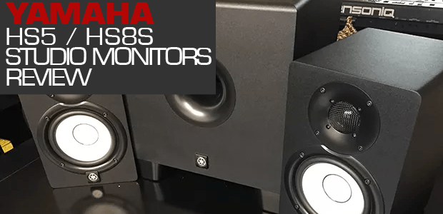 Yamaha HS5 / HS8S Powered Studio Monitors & Sub-Woofer Review