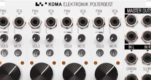 KOMA Elektronik POLTERGEIST Quadraphonic Mixer Shipping