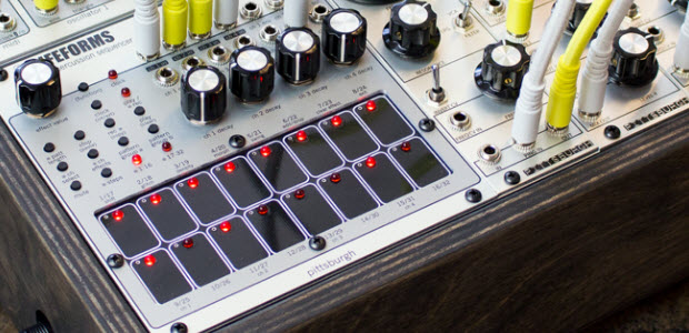 Pittsburgh Modular Introduces Lifeforms Percussion Sequencer