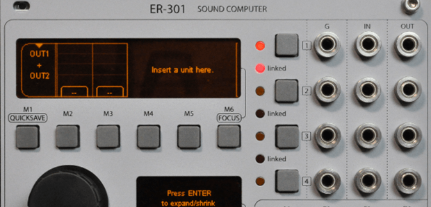 Orthogonal Devices ER-301 Sound Computer - Eurorack Sampler - Shipping