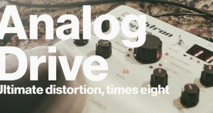 Elektron Introduces Analog Drive – 100% Analog Distortion Stompbox