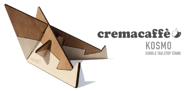 Cremacaffé Kosmo Stand - Double Tabletop Stand