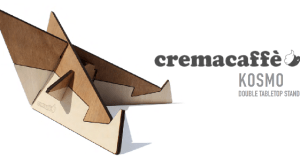 Cremacaffé Kosmo Stand – Double Tabletop Stand