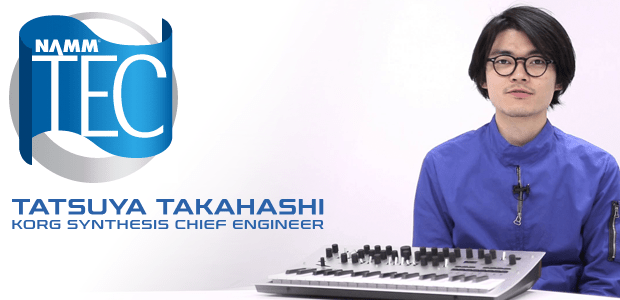 Exclusive NAMM TEC Awards Interview - Tatsuya Takahashi of Korg USA