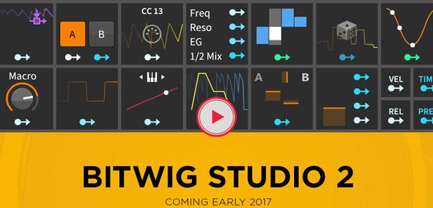 Bitwig Announces BITWIG STUDIO 2