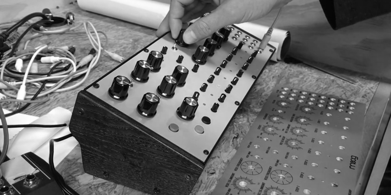 Moog DFAM Percussion Synthesizer - Moogfest Test Run