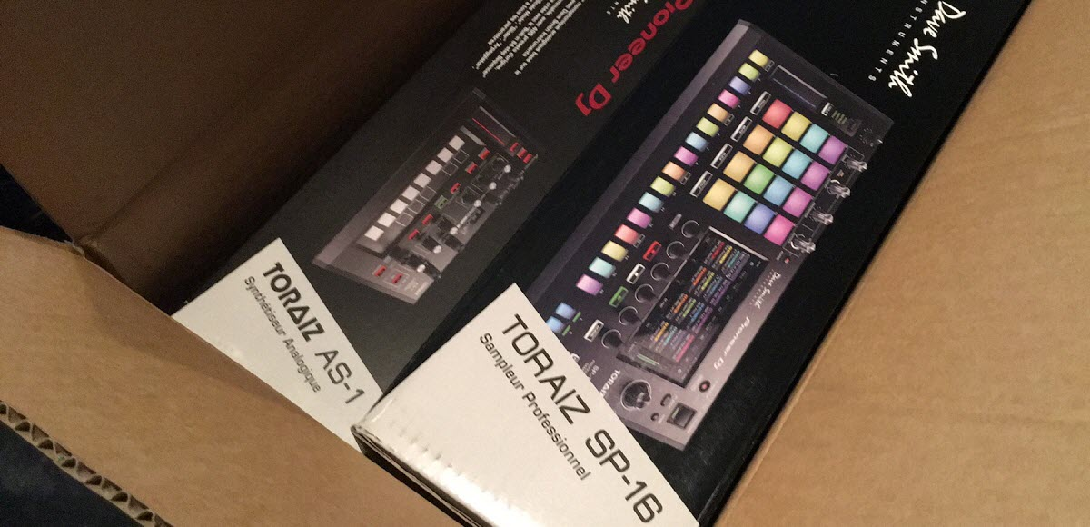 Pioneer DJ Toraiz SP-16 & AS-1 Unboxing