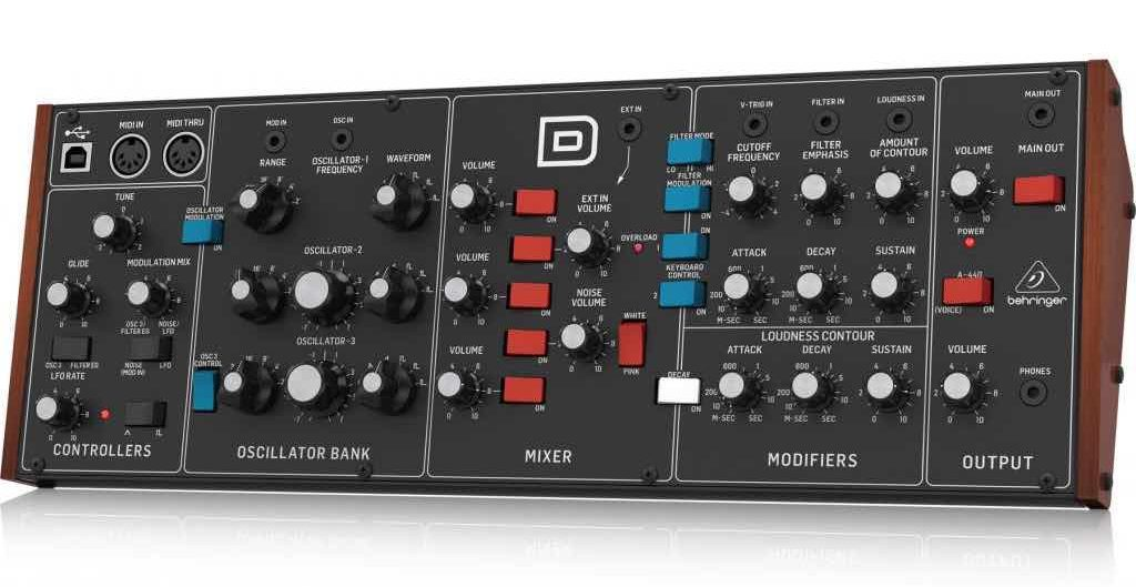 Behringer Model D Audio Demo - Convincing or Nah?