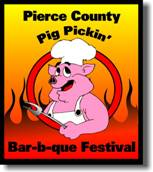 Pierce County Pig Pickin' logo