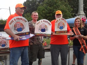 Bethel Smokers win  Sauce, Brunswick Stew & People's Choice
