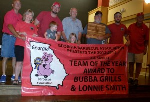 A.K.Saville Team of the Year - Bubba Grills