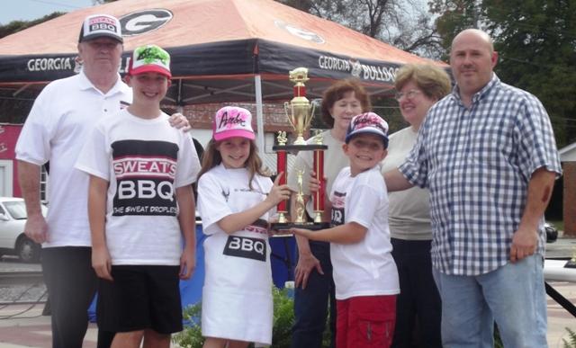 Reserve Grand Champion - Sweat's BBQ