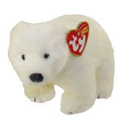 Small Crop Of Polar Bear Stuffed Animal