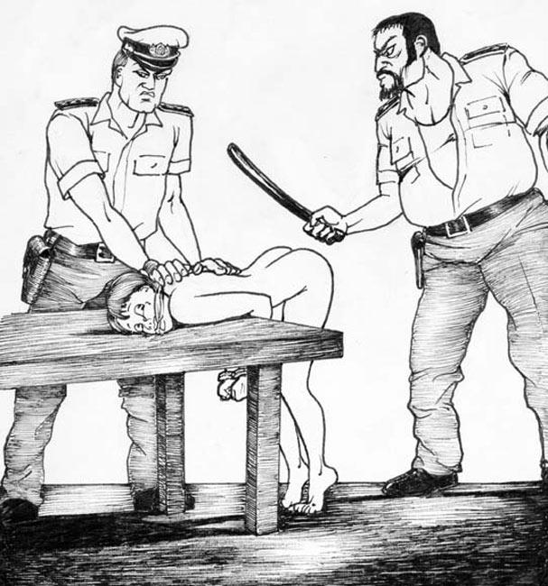 kd spanking drawings