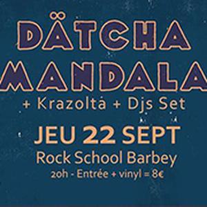 Dätcha Mandala + Krazolta + DJ set