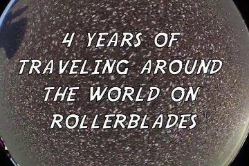 Video thumbnail for vimeo video Michael Pedersen: 4 Years of Rollerblading Adventures - Be-Mag