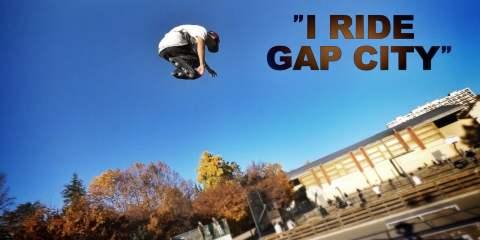 Video thumbnail for vimeo video Roman Abrate: I Ride Gap City 2 - Be-Mag