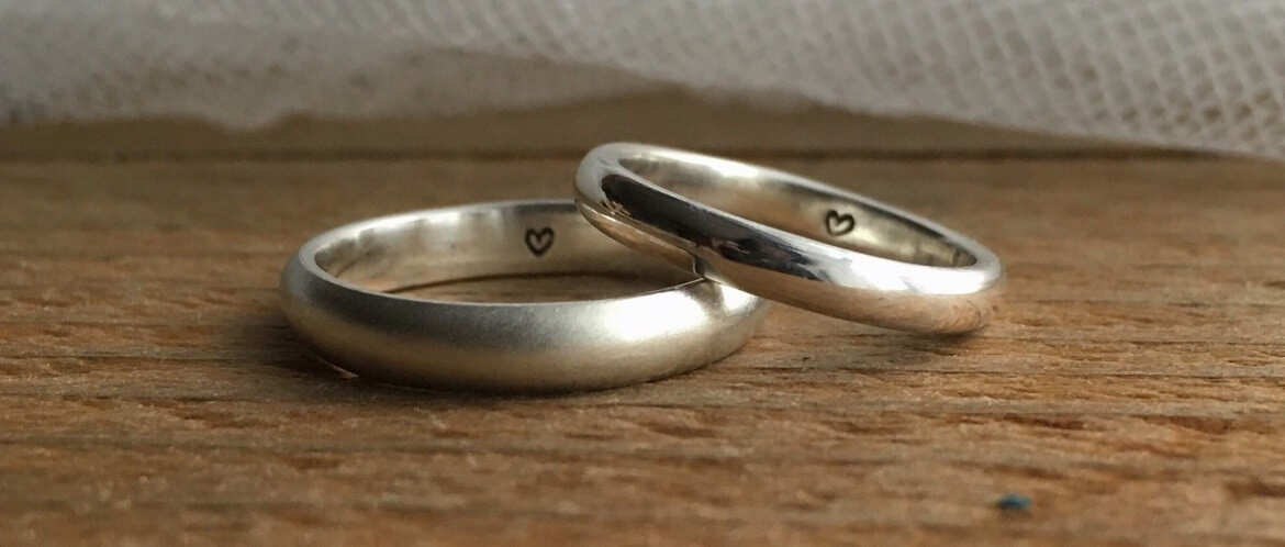 handmade-bespoke-wedding-rings-made-from-recycled-silver-materials