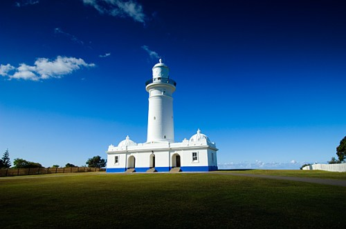 The Macquarie Lighthouse :: photo by Mike Armstrong Photography
